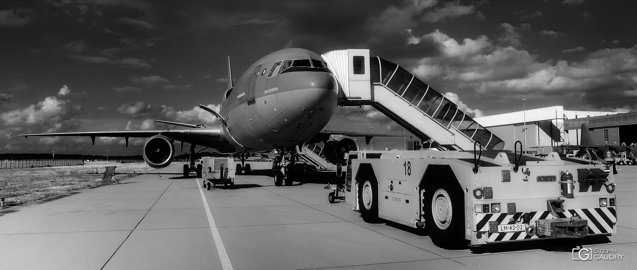 Eindhoven airport (NL), McDonnell Douglas KDC-10 [Cliquez pour lancer le diaporama]