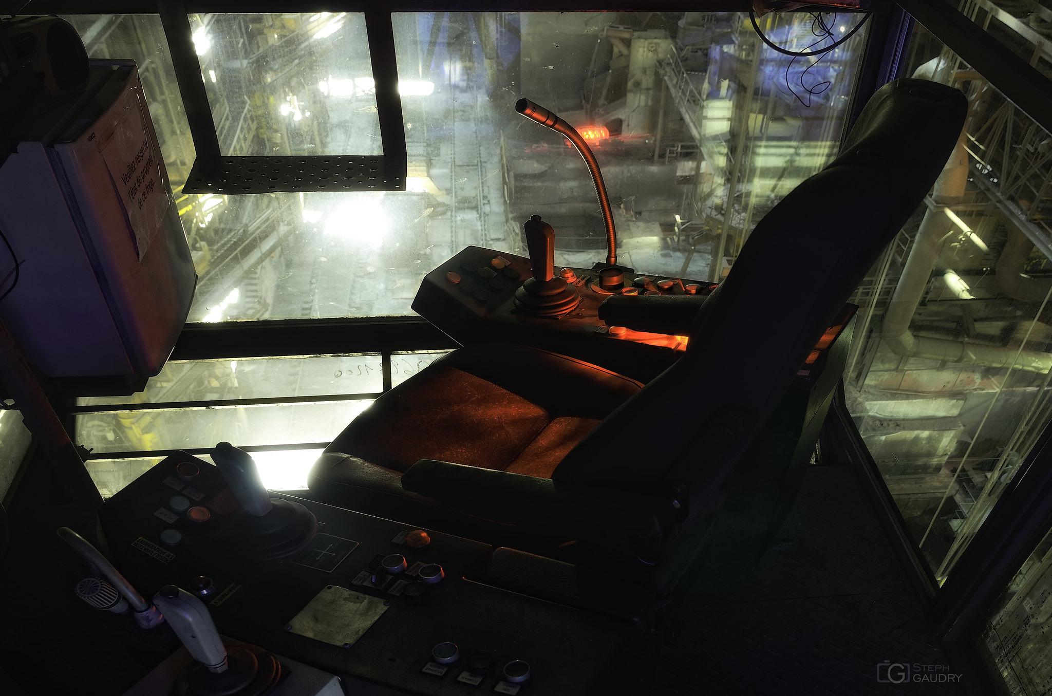 Umbrella Corporation supervisor seat [Cliquez pour lancer le diaporama]