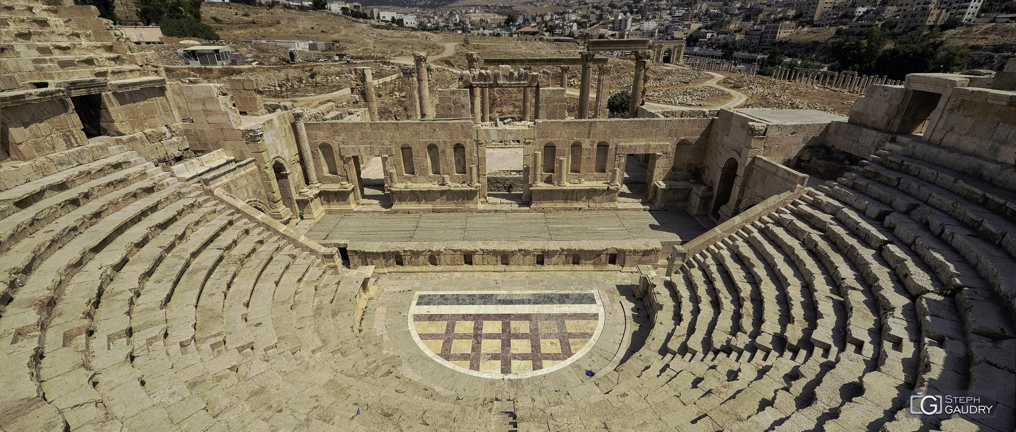 Jerash - Théâtre Nord [Cliquez pour lancer le diaporama]