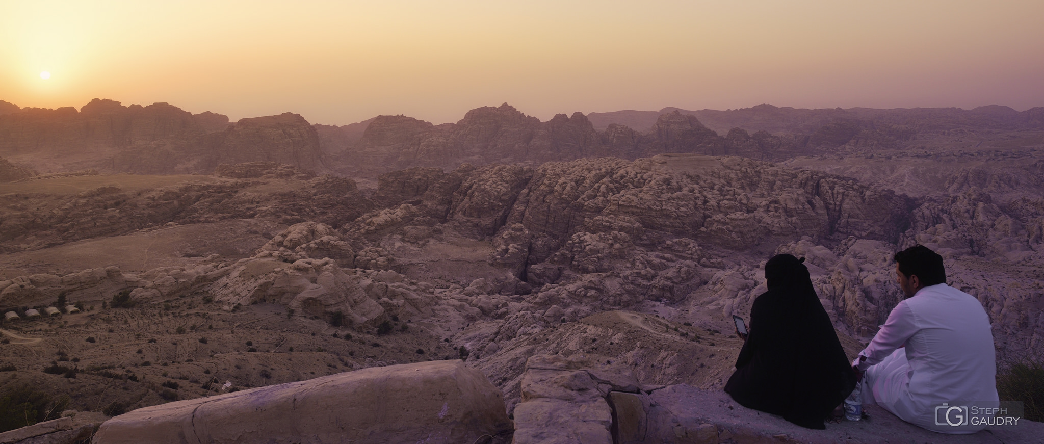 Sunset in the mountains above Petra - 2017_09_04_174902