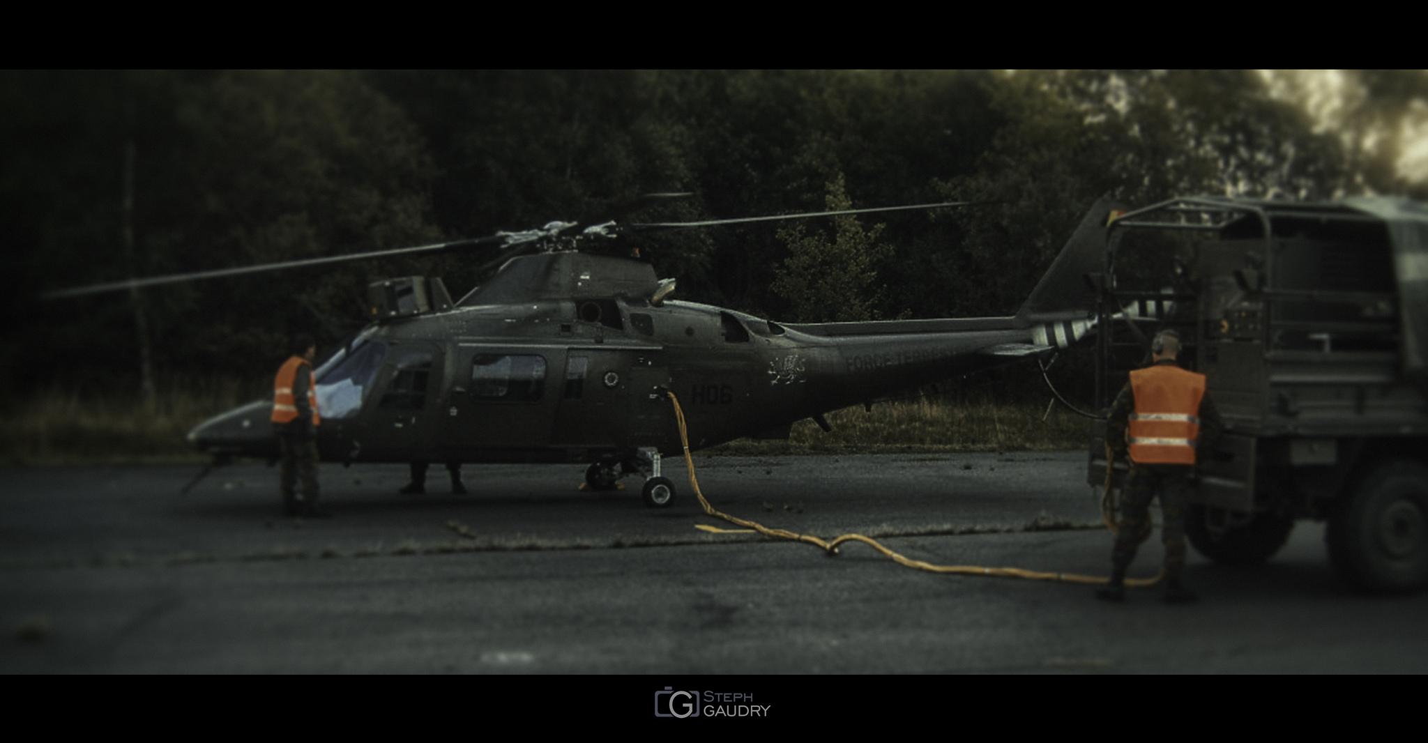 Préparatifs pour le décollage [Cliquez pour lancer le diaporama]