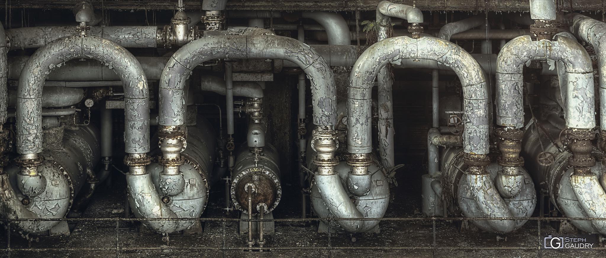 ECVB decayed pipes [Cliquez pour lancer le diaporama]