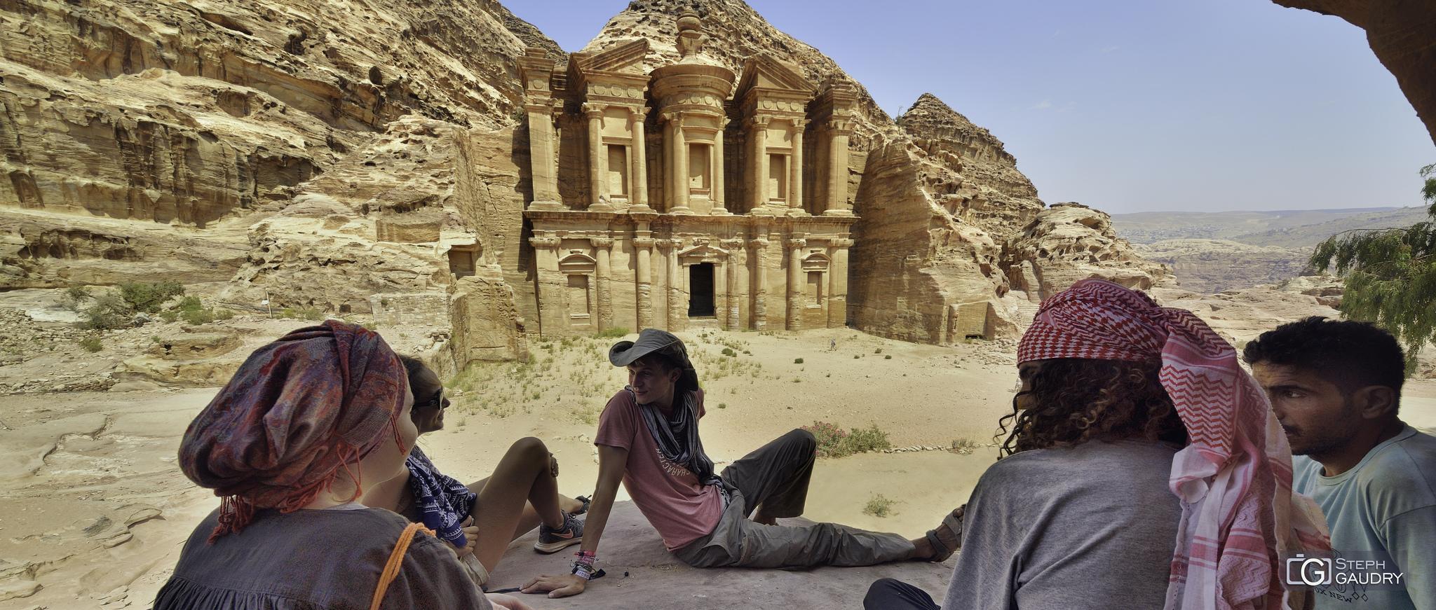al-Deir - le monastère de Petra [Click to start slideshow]