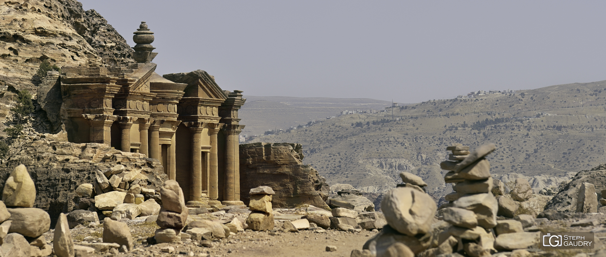 Al Deir - partie supérieure du monastère [Cliquez pour lancer le diaporama]