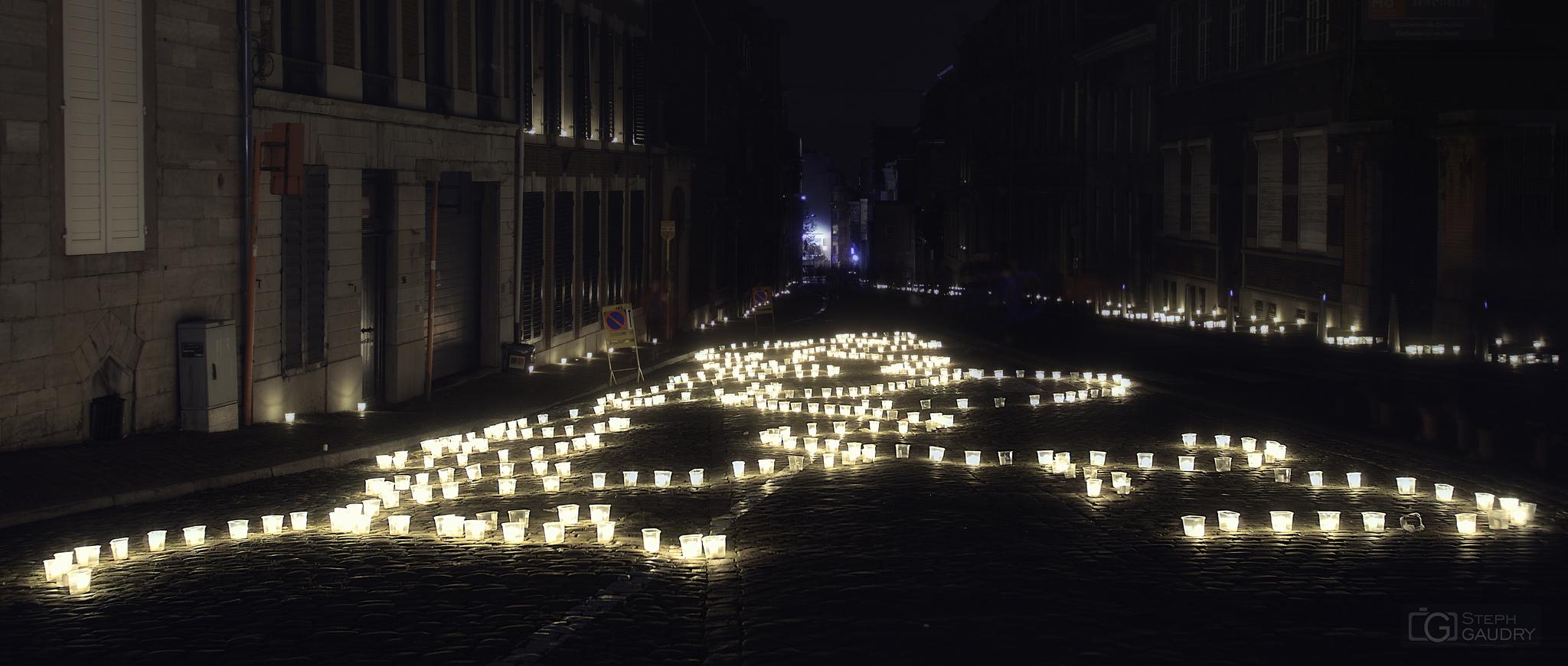 Liège, la nocturne des coteaux - St Martin [Click to start slideshow]