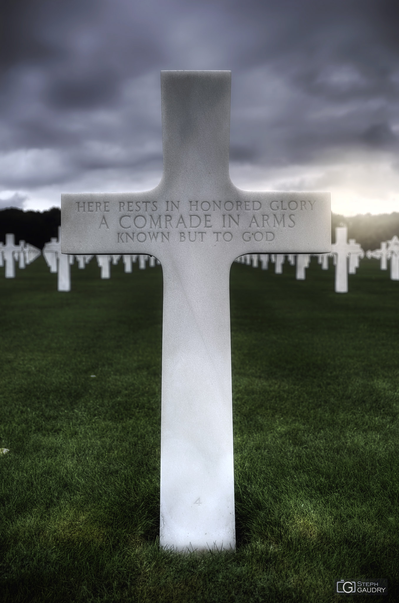 Ardennes American Cemetery - unknown