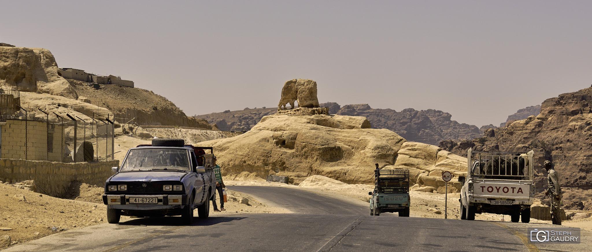 جبل الفيل - The elephant mountain [Klik om de diavoorstelling te starten]