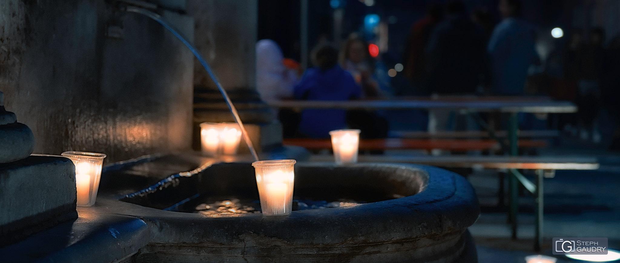 Nocturne des coteaux @ Fontaine Saint-Jean-Baptiste (face Nord) [Cliquez pour lancer le diaporama]
