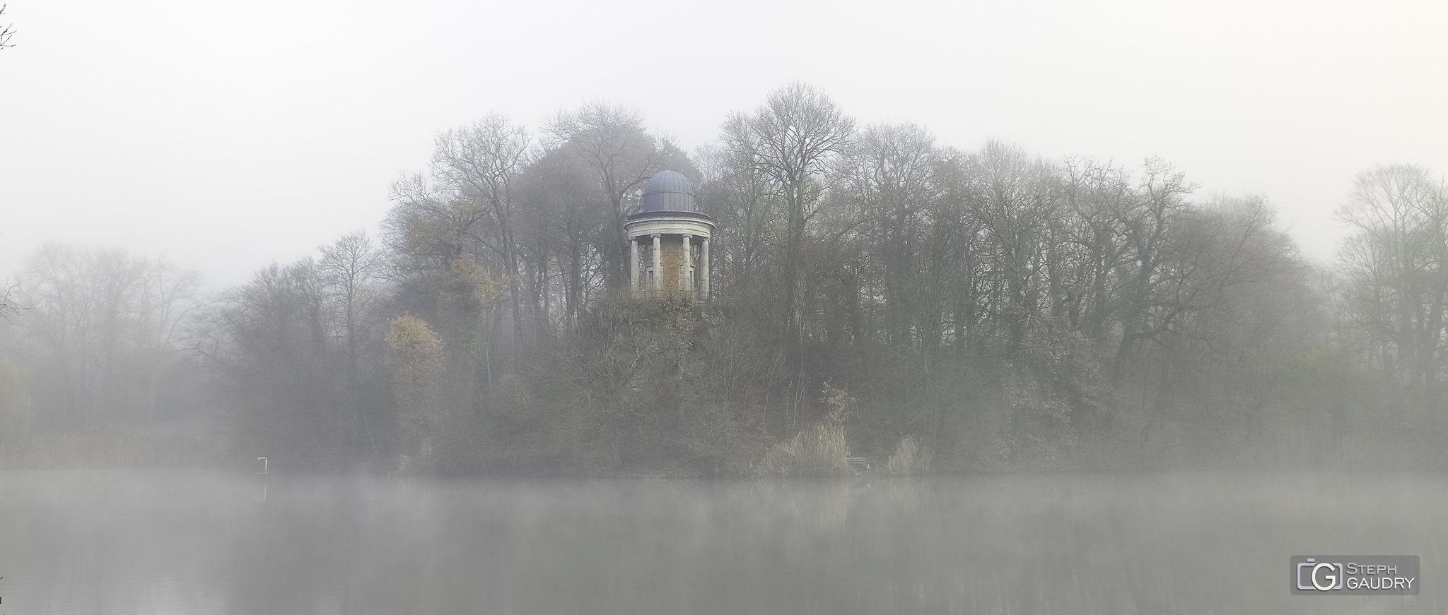 Wégimont dans le brouillard (11/2019) [Cliquez pour lancer le diaporama]