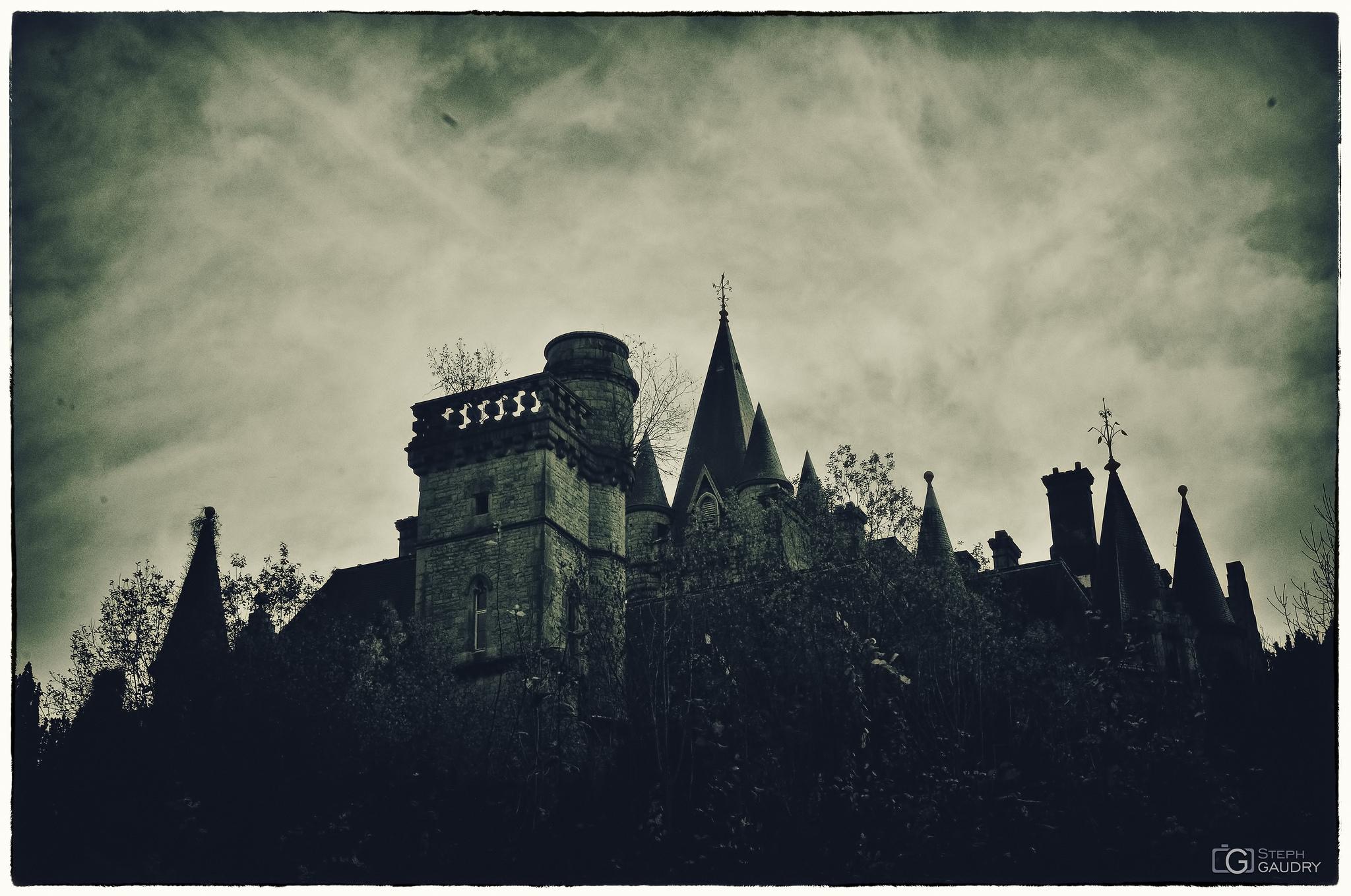 Photo vintage du château de Noisy dans les bois [Click to start slideshow]