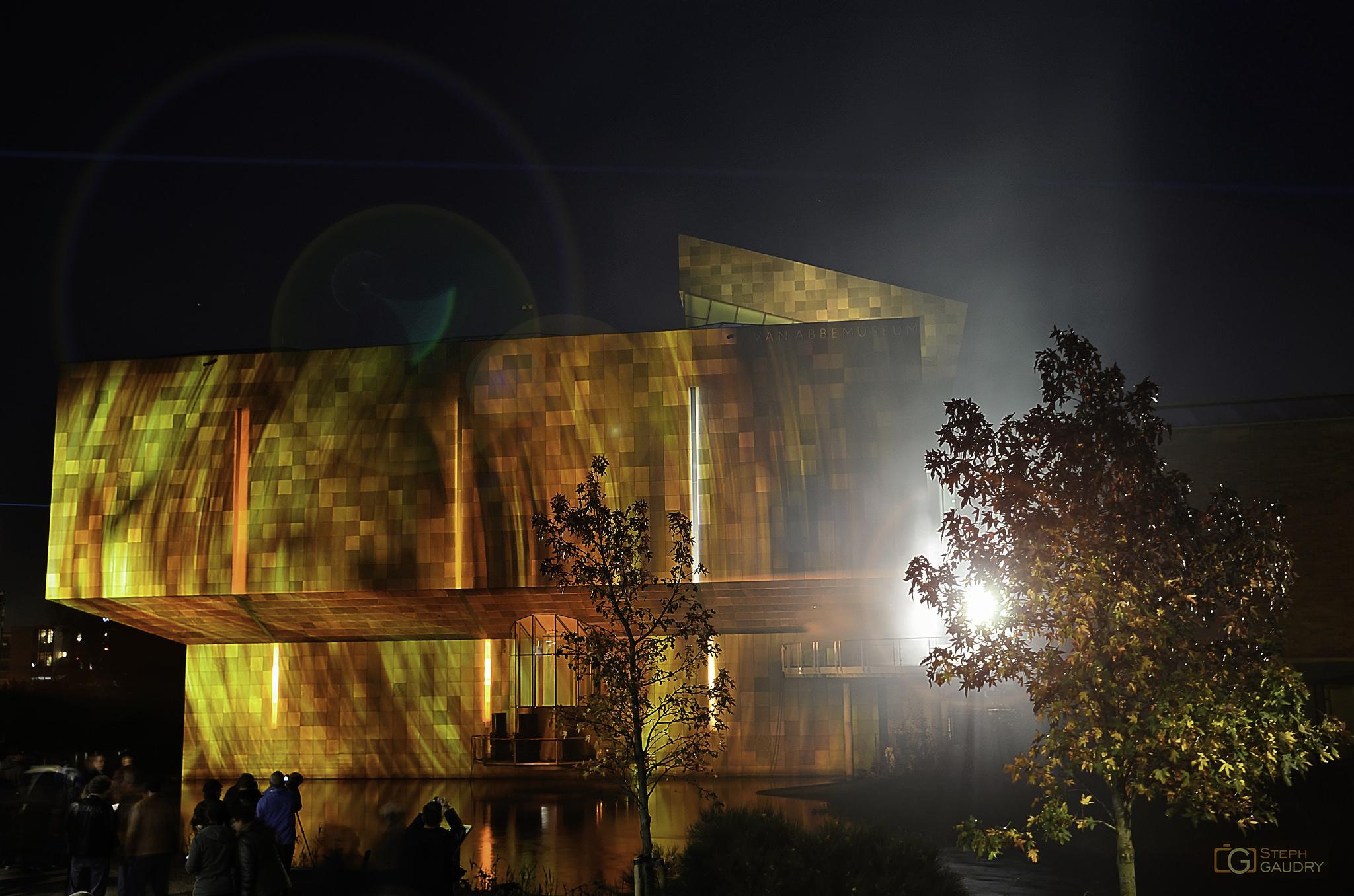 Burning Van Abbe Museum - 2