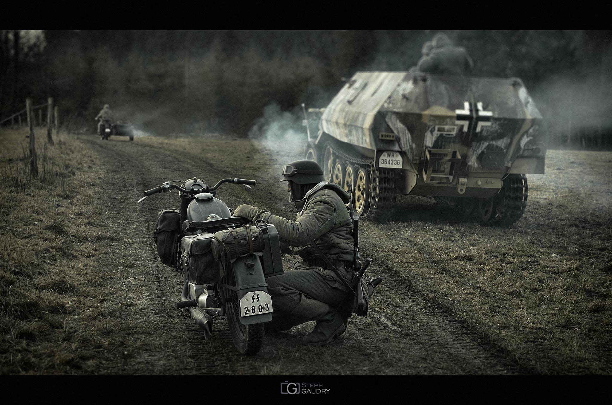Mouvements des troupes allemandes [Cliquez pour lancer le diaporama]