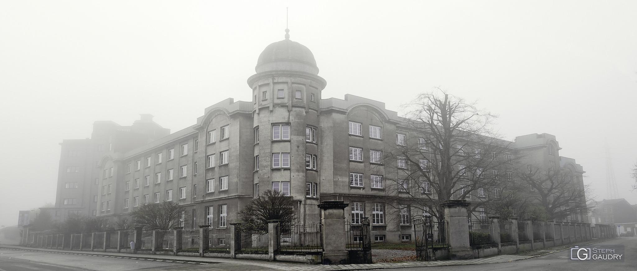 Brouillard ce matin sur Liège... [Cliquez pour lancer le diaporama]