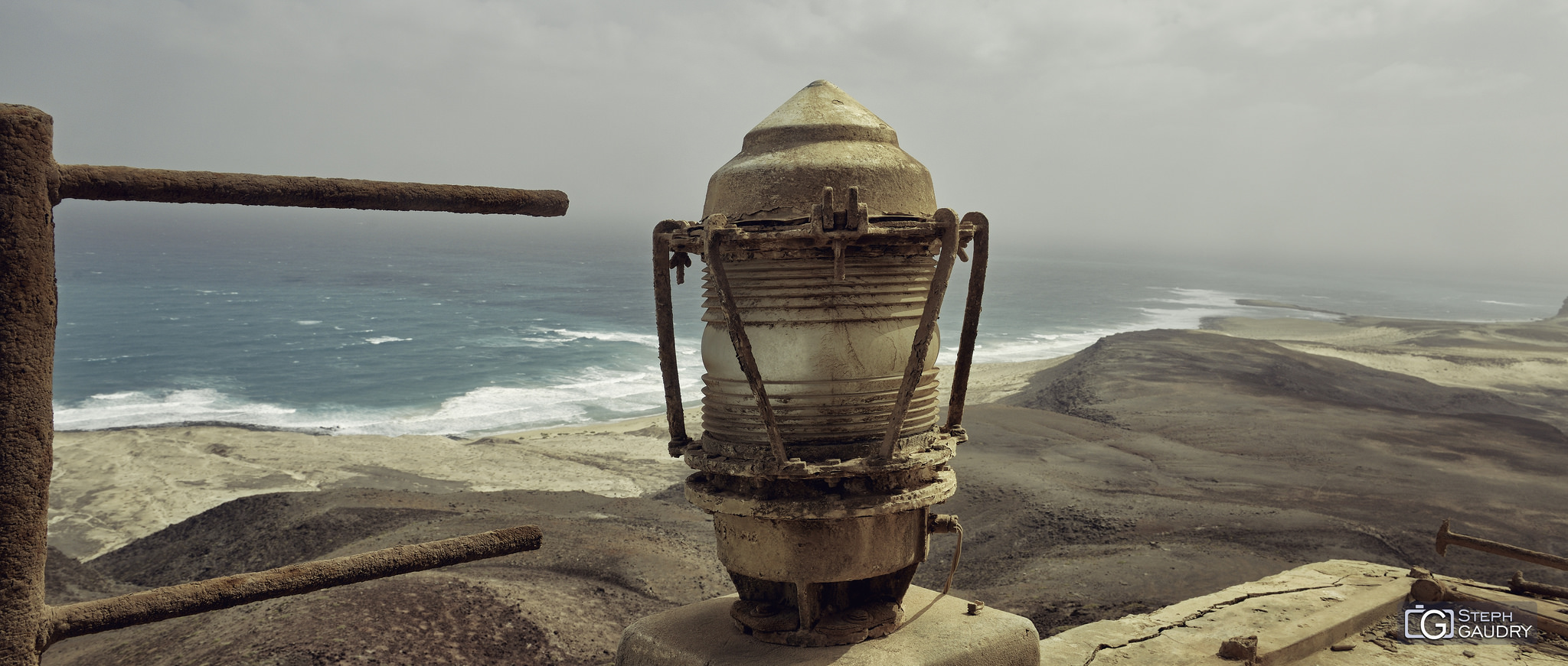 Vue depuis la phare abandonné de Morro Negro [Click to start slideshow]