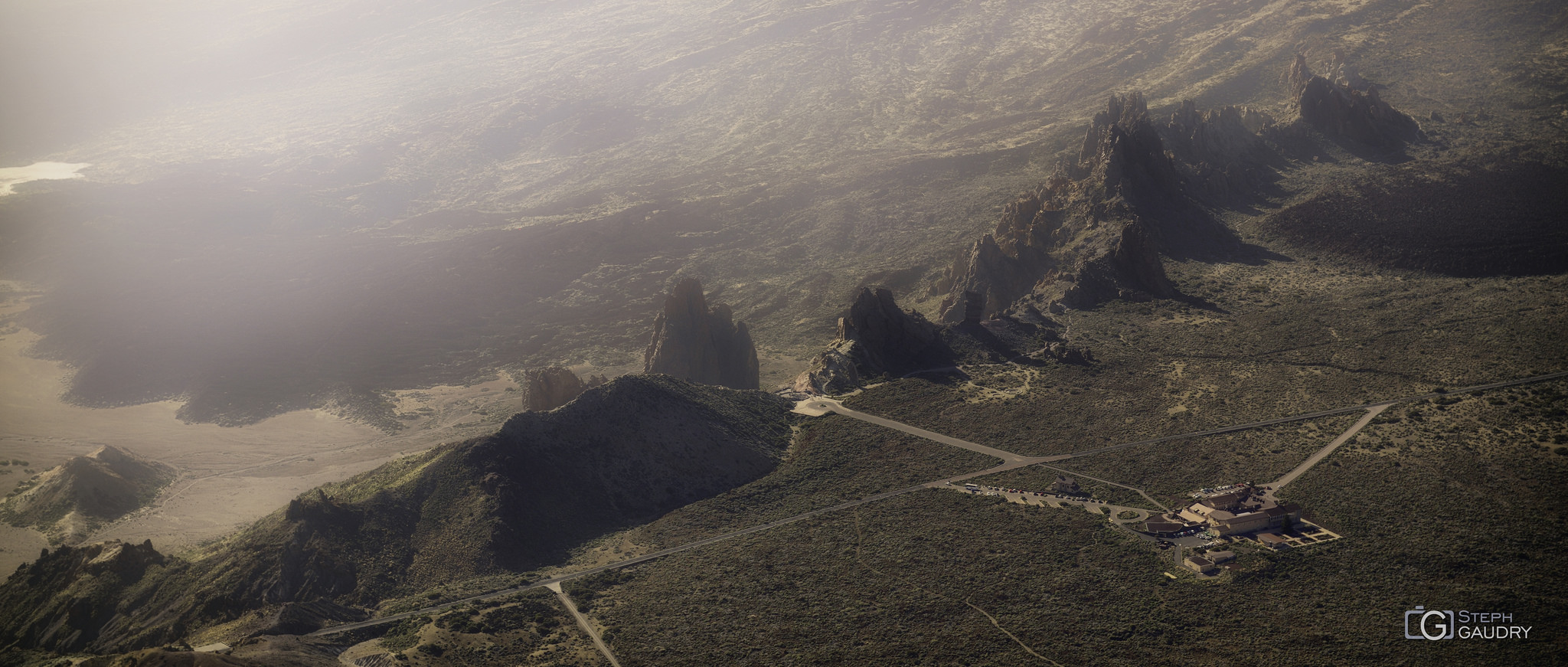 Roques de García desde el Alto de Guajara