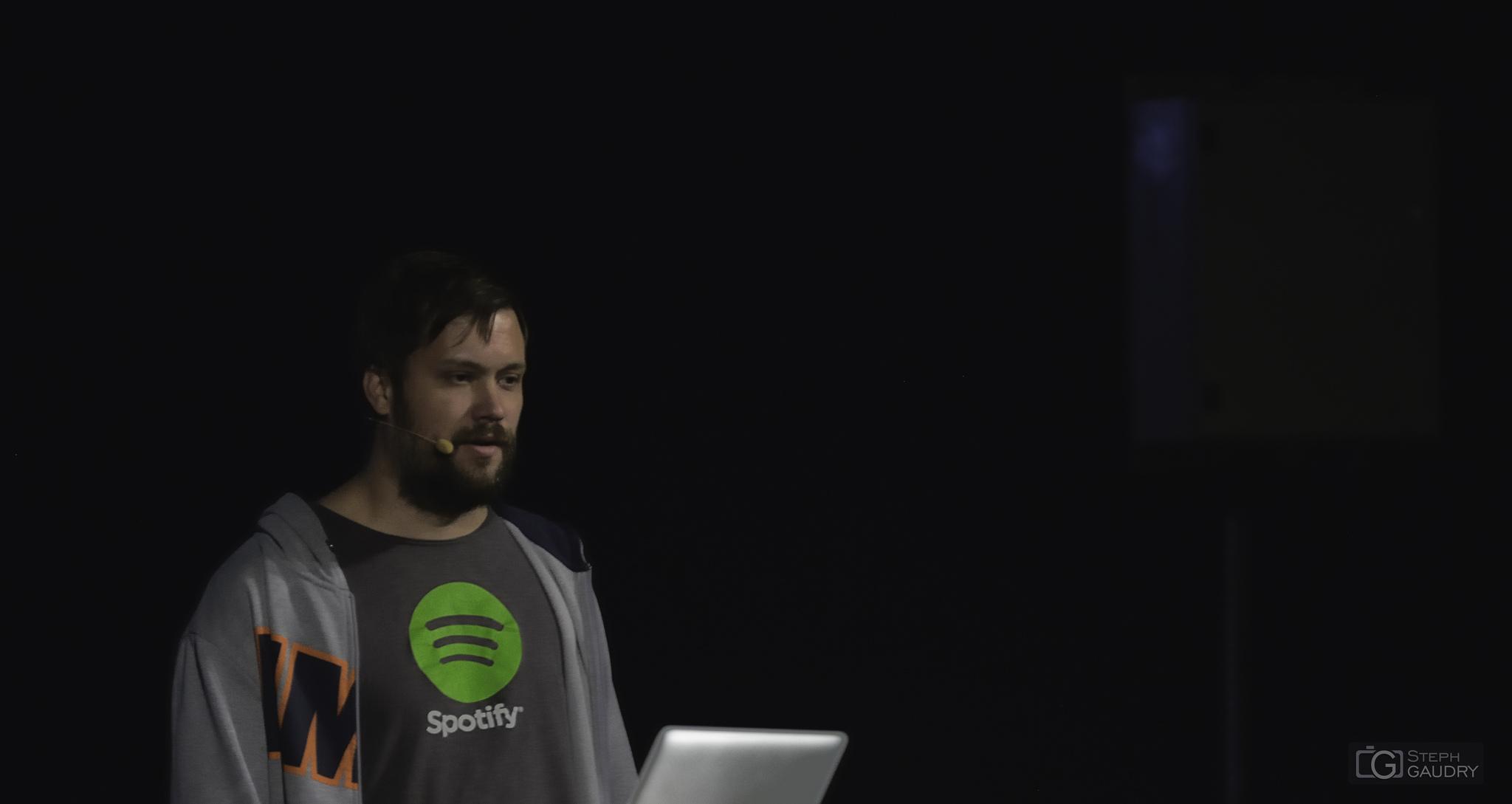 Devoxx 2014 - Spotify - audio delivery at scale [Cliquez pour lancer le diaporama]