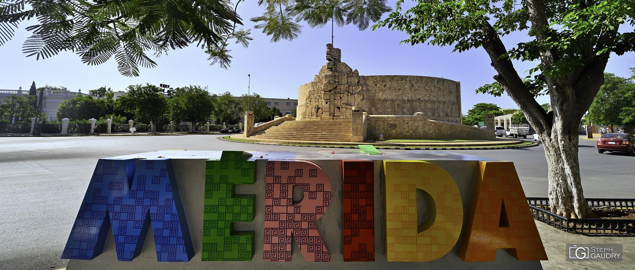 Merida - monument [Cliquez pour lancer le diaporama]