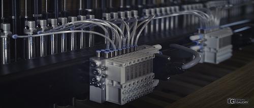 Système pneumatique du carillon automatique