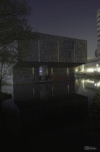 Van Abbe Museum by night