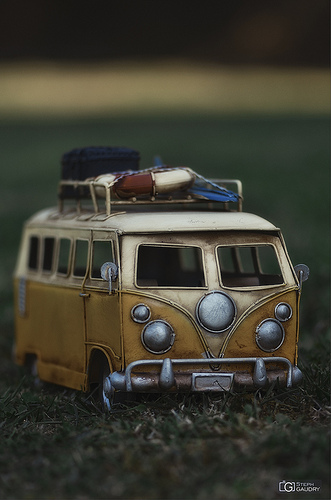 Volkswagen Bus Toy