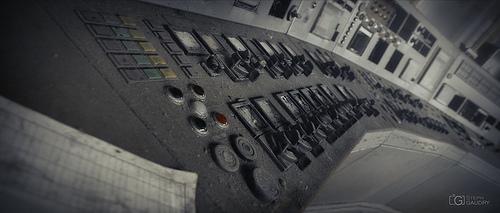 ECVB : lillte grey control room