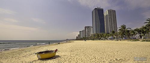 La plage de Da Nang