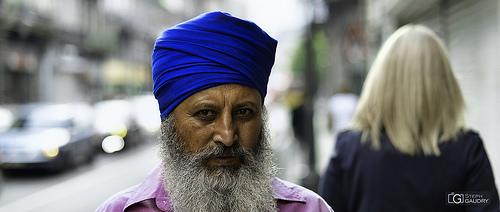 L'homme au turban bleu