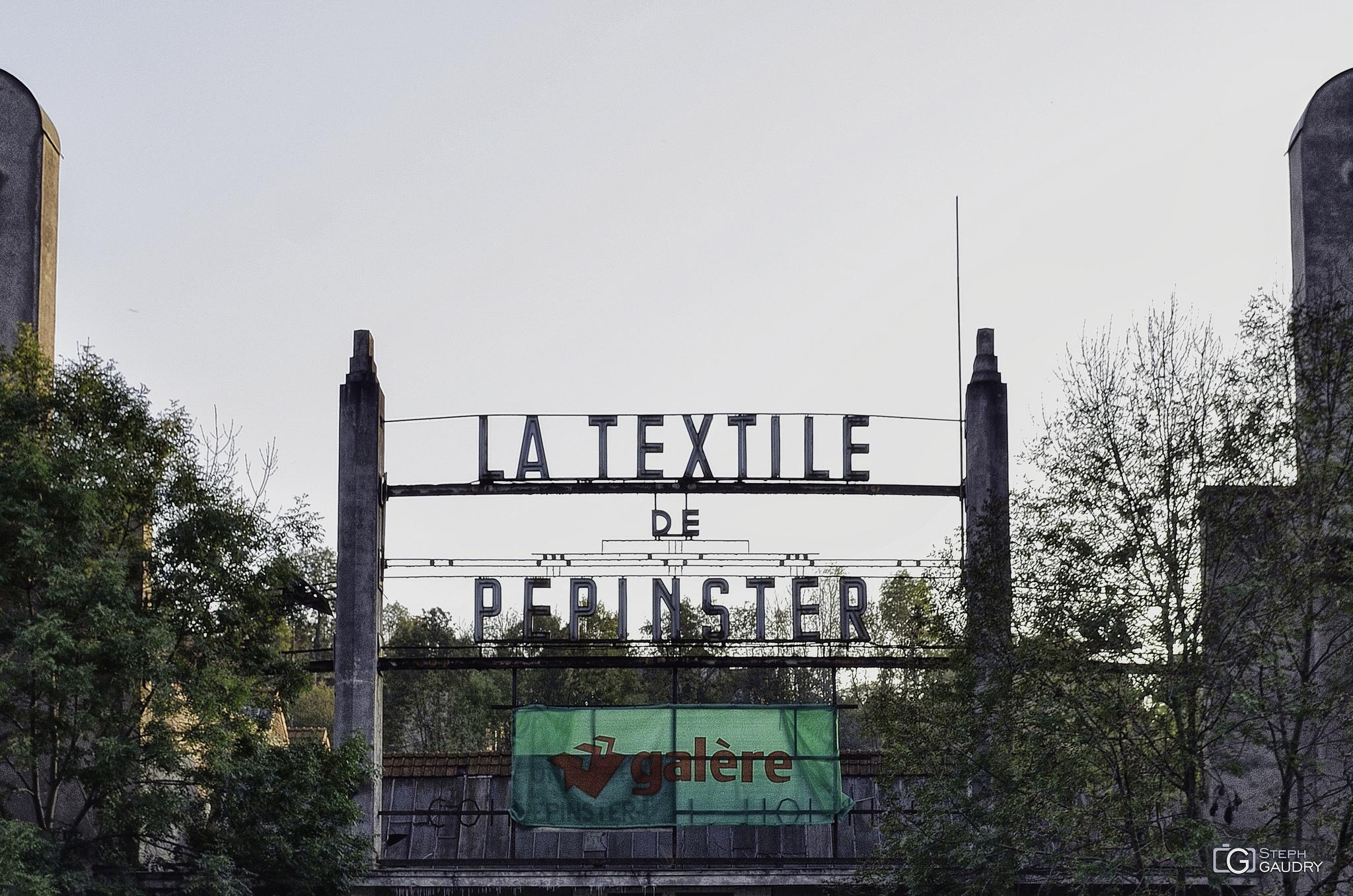 La textile de Pepinster [Cliquez pour lancer le diaporama]