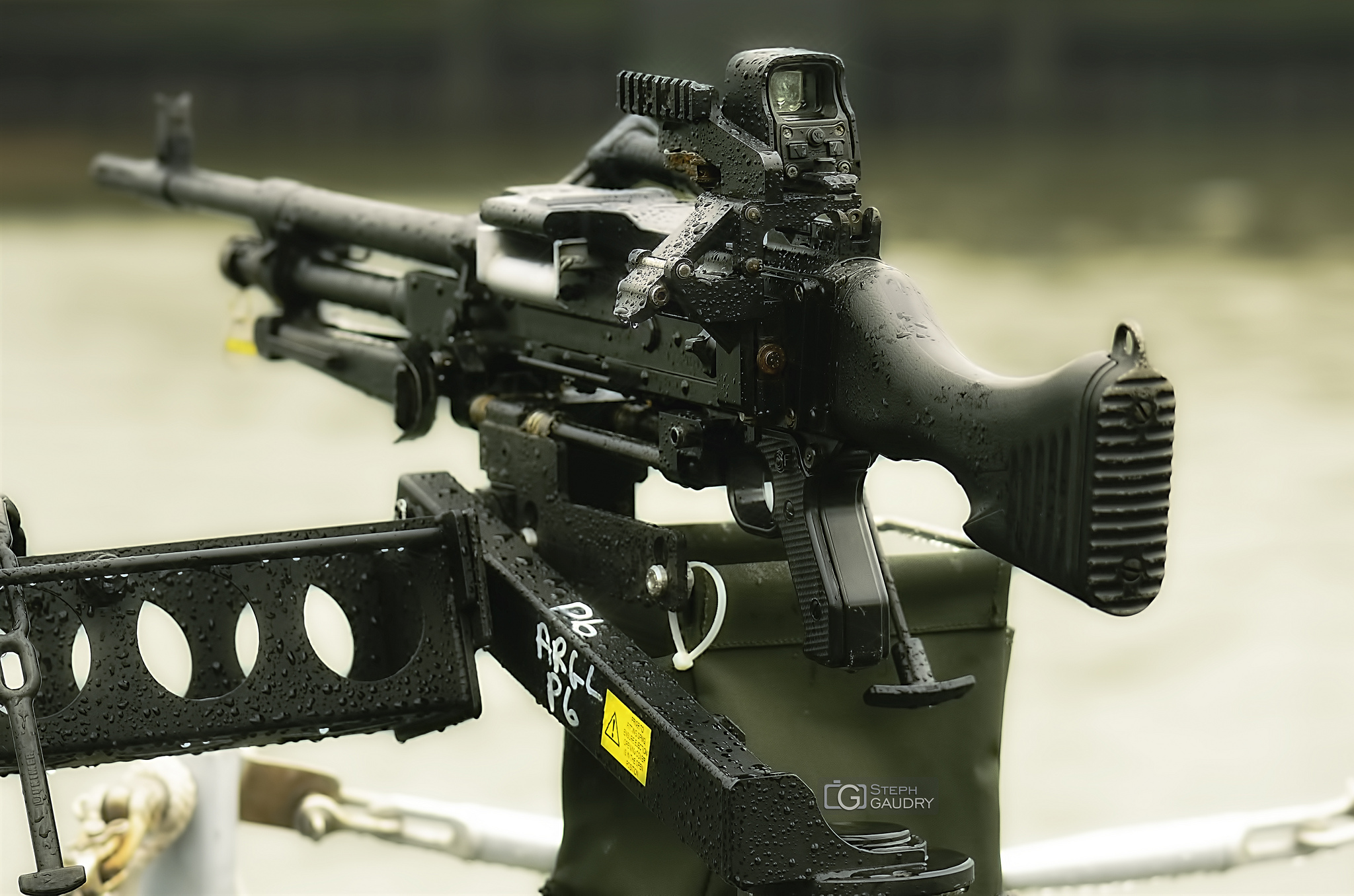 GPMG M240 - left side