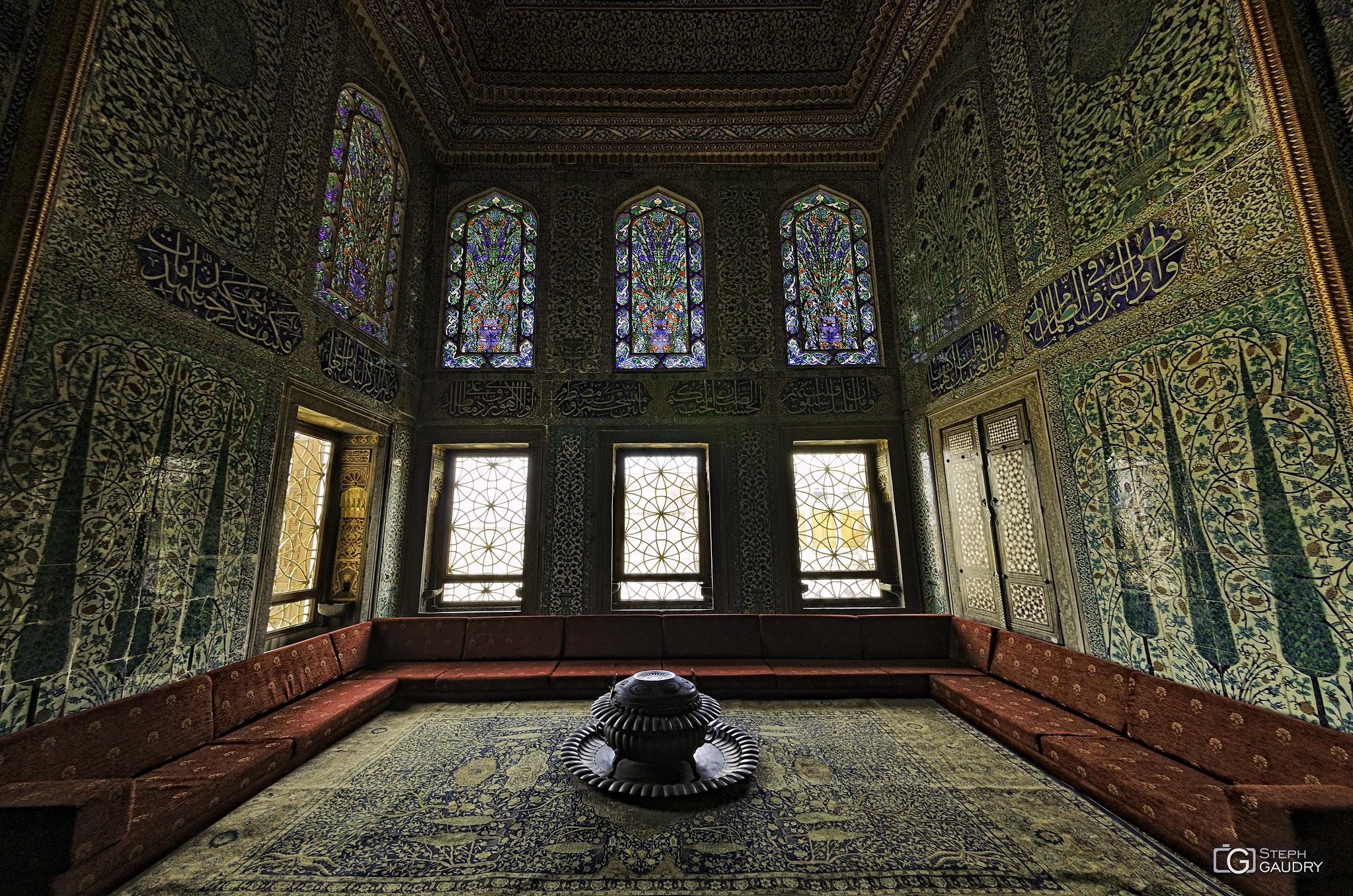 Palais de Topkapi - intérieur des appartements des princes de la Couronne [Klik om de diavoorstelling te starten]