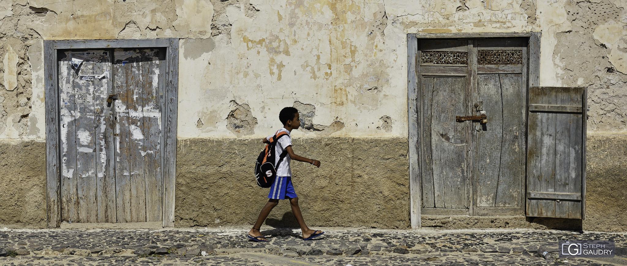 Portrait de rue à Sal-Rei [Cliquez pour lancer le diaporama]