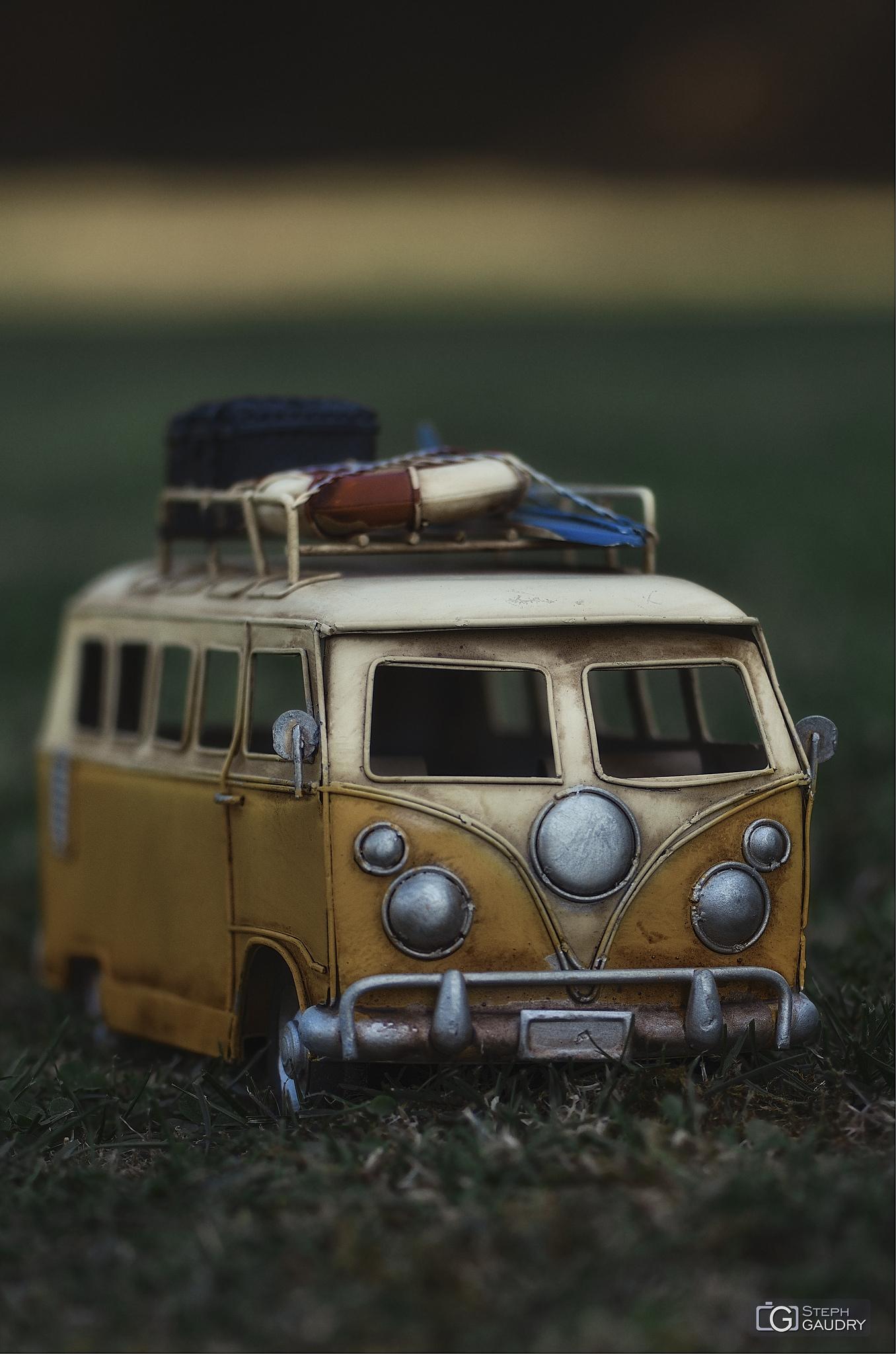 Volkswagen Bus Toy [Cliquez pour lancer le diaporama]