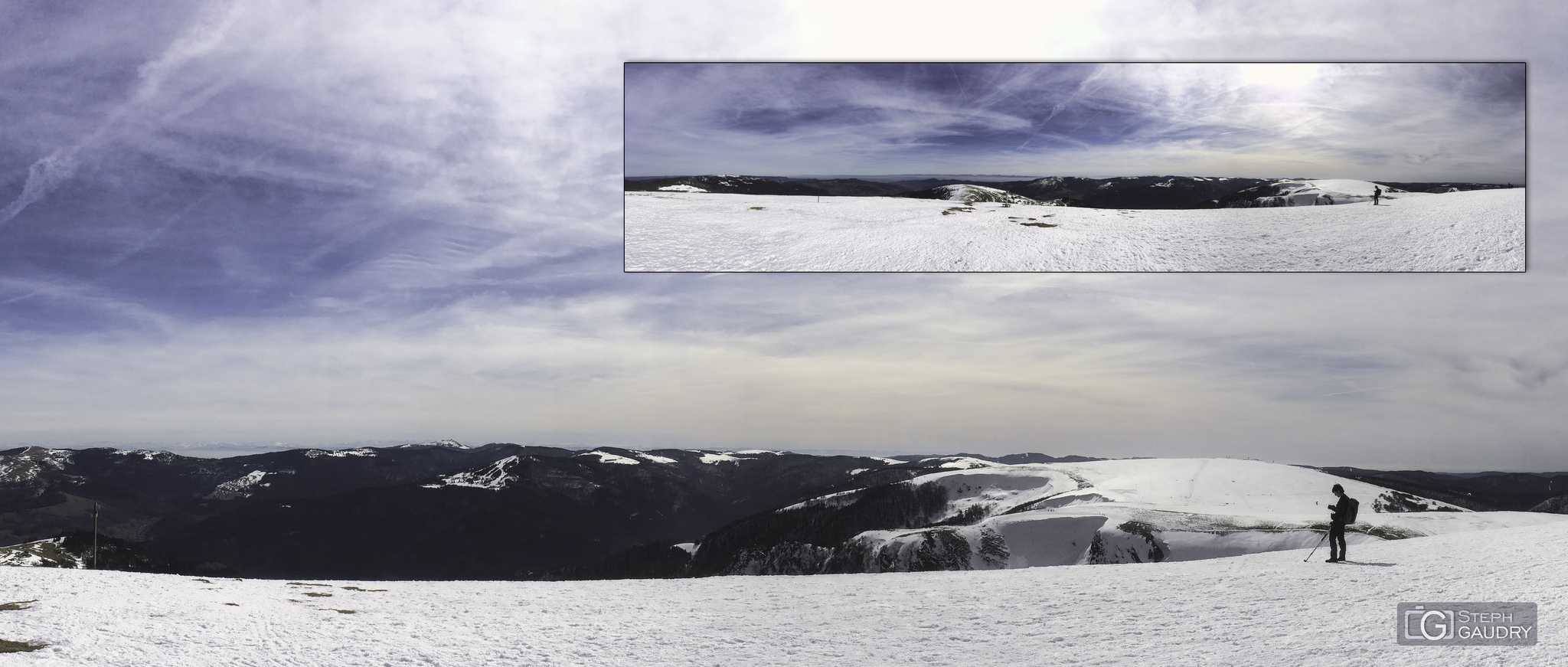 Panorama iPhone - Le Hohneck [Klik om de diavoorstelling te starten]
