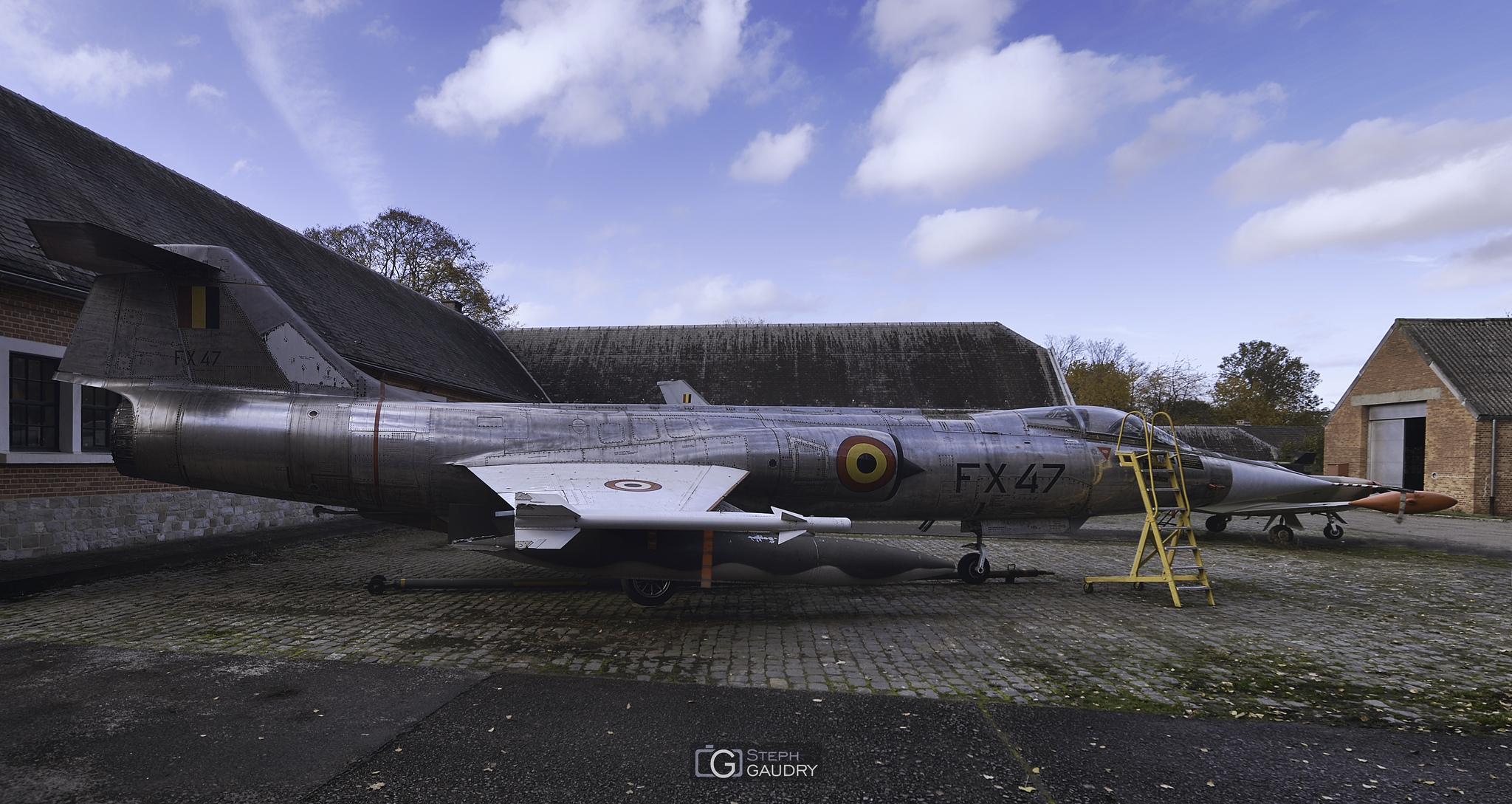 Lockheed F-104G Starfighter [Cliquez pour lancer le diaporama]