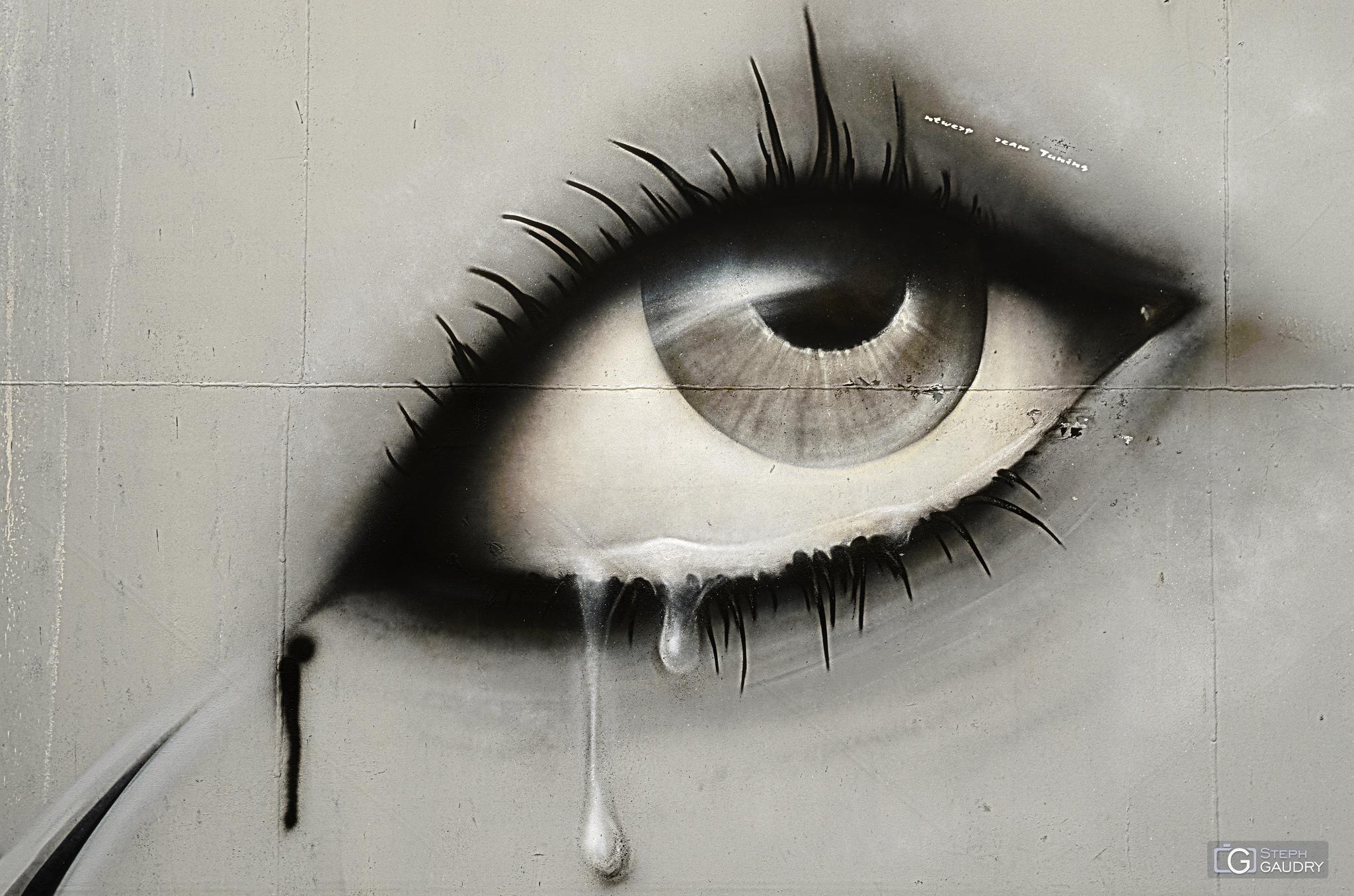 Les larmes de Doel - Gros plan [Klik om de diavoorstelling te starten]