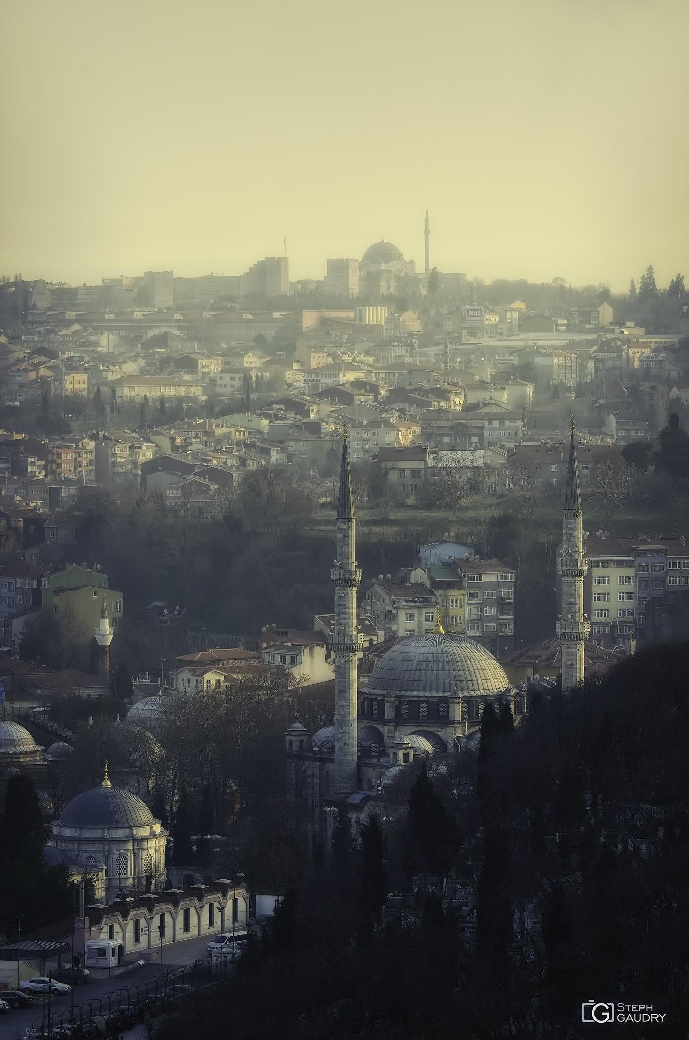 Mosquée d'Eyüp (Eyüp Sultan Camii) – Istanbul [Cliquez pour lancer le diaporama]