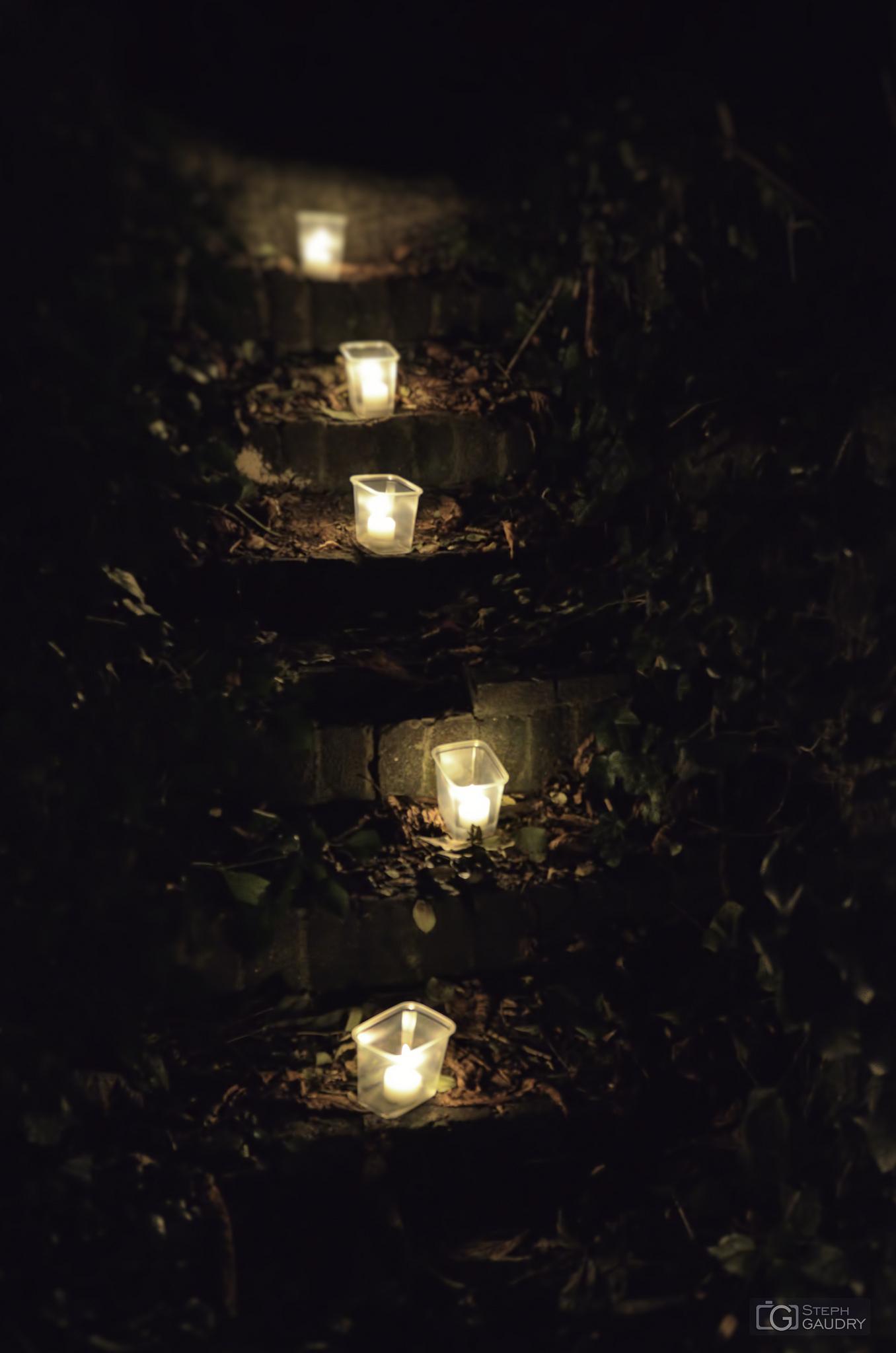 Comme les bougies, les amoureux brûlent avant de fondre (en larmes).