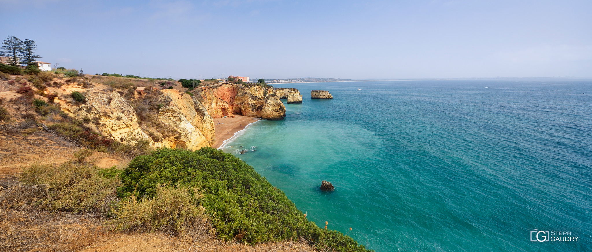 Les falaises d'Algarve [Click to start slideshow]
