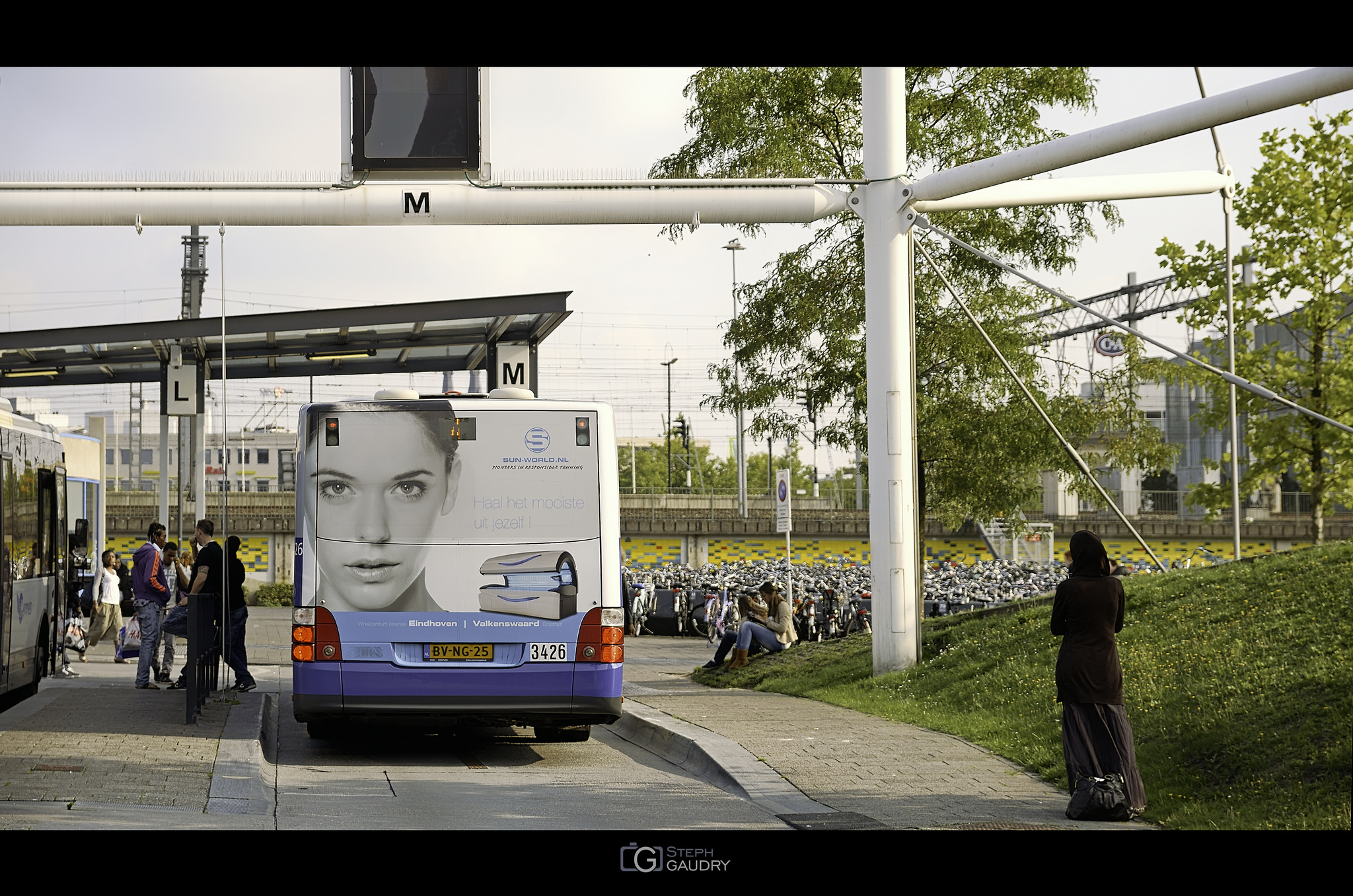 Wachten op de bus... [Click to start slideshow]