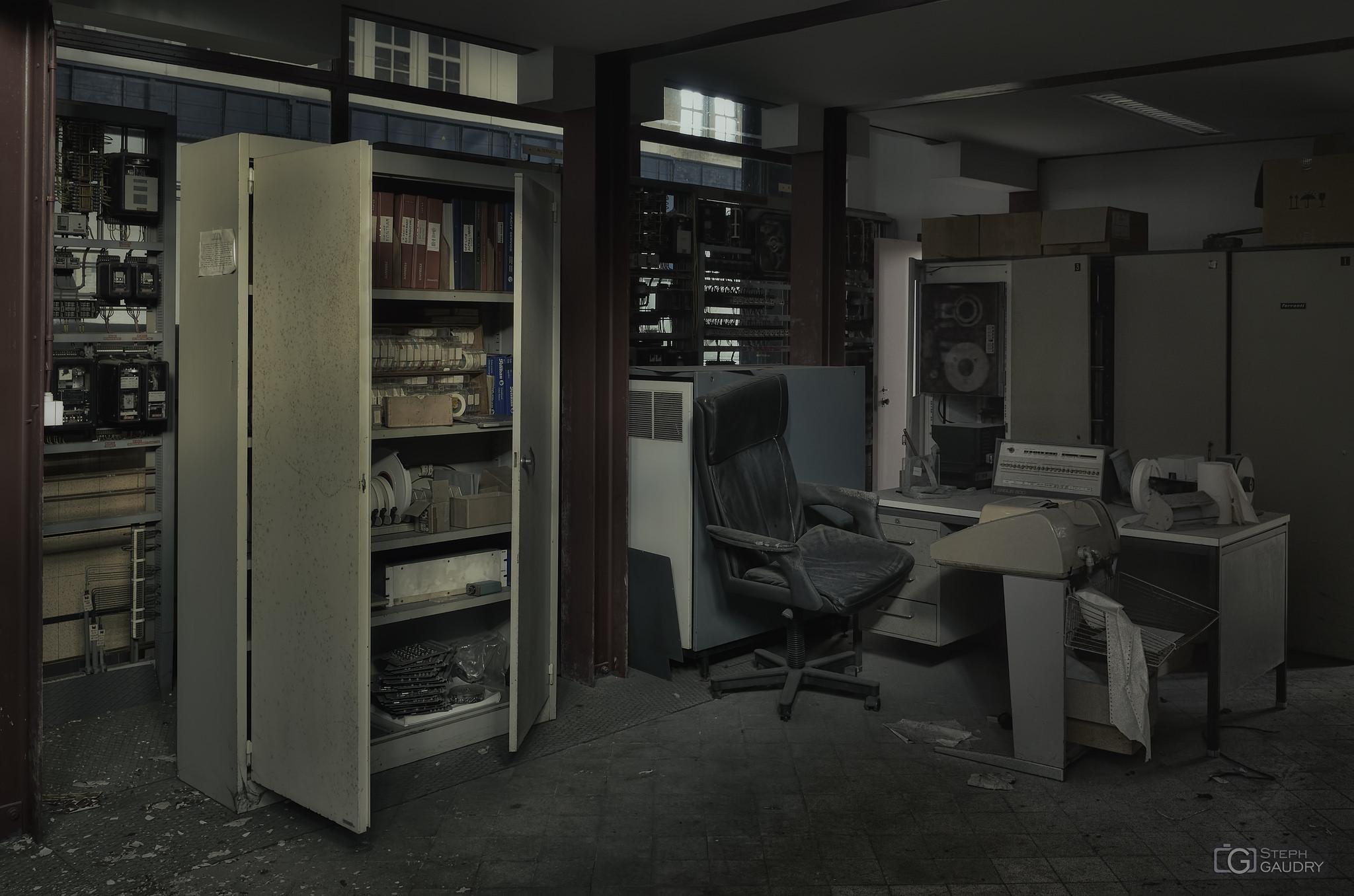 Old datacenter [Cliquez pour lancer le diaporama]