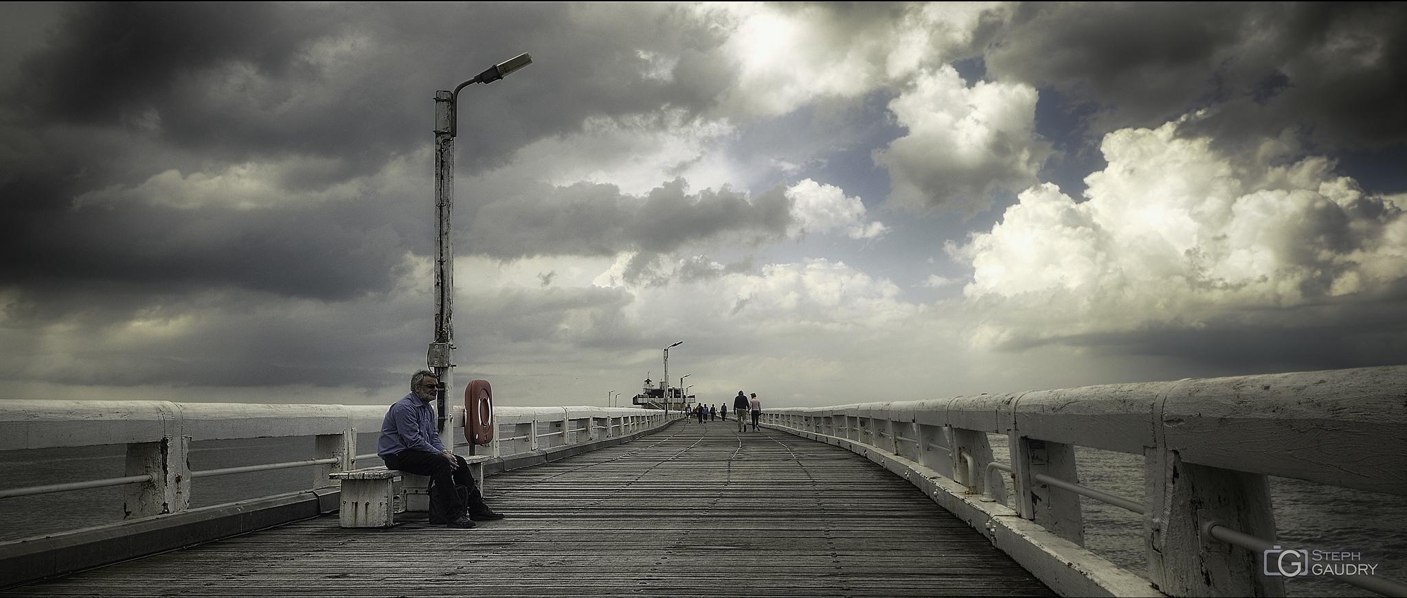 L'estacade d'Ostende