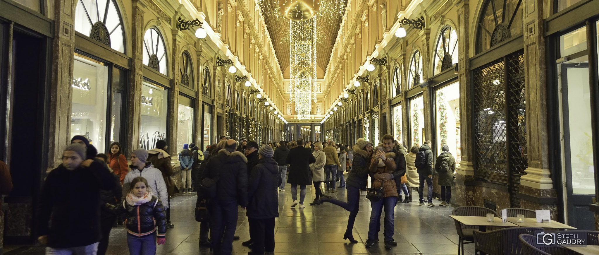 Galeries Royales St Hubert à Bruxelles [Klik om de diavoorstelling te starten]