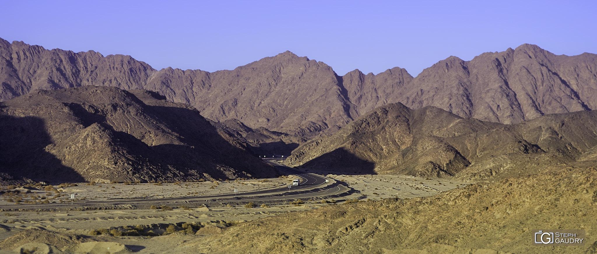 Montagnes d'Egypte - Qadd el-Barûd [Klicken Sie hier, um die Diashow zu starten]