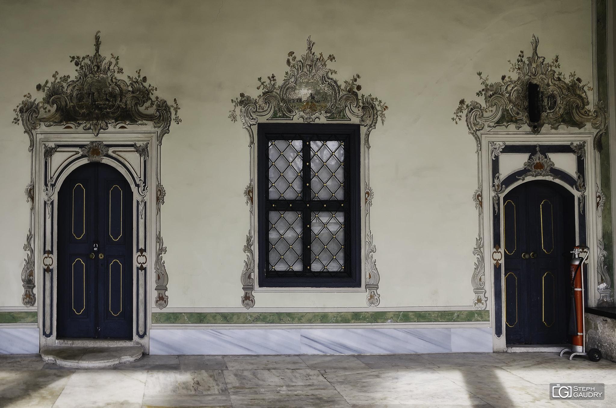 Istanbul, Topkapi palace - Imperial Council (Defterhāne) [Cliquez pour lancer le diaporama]