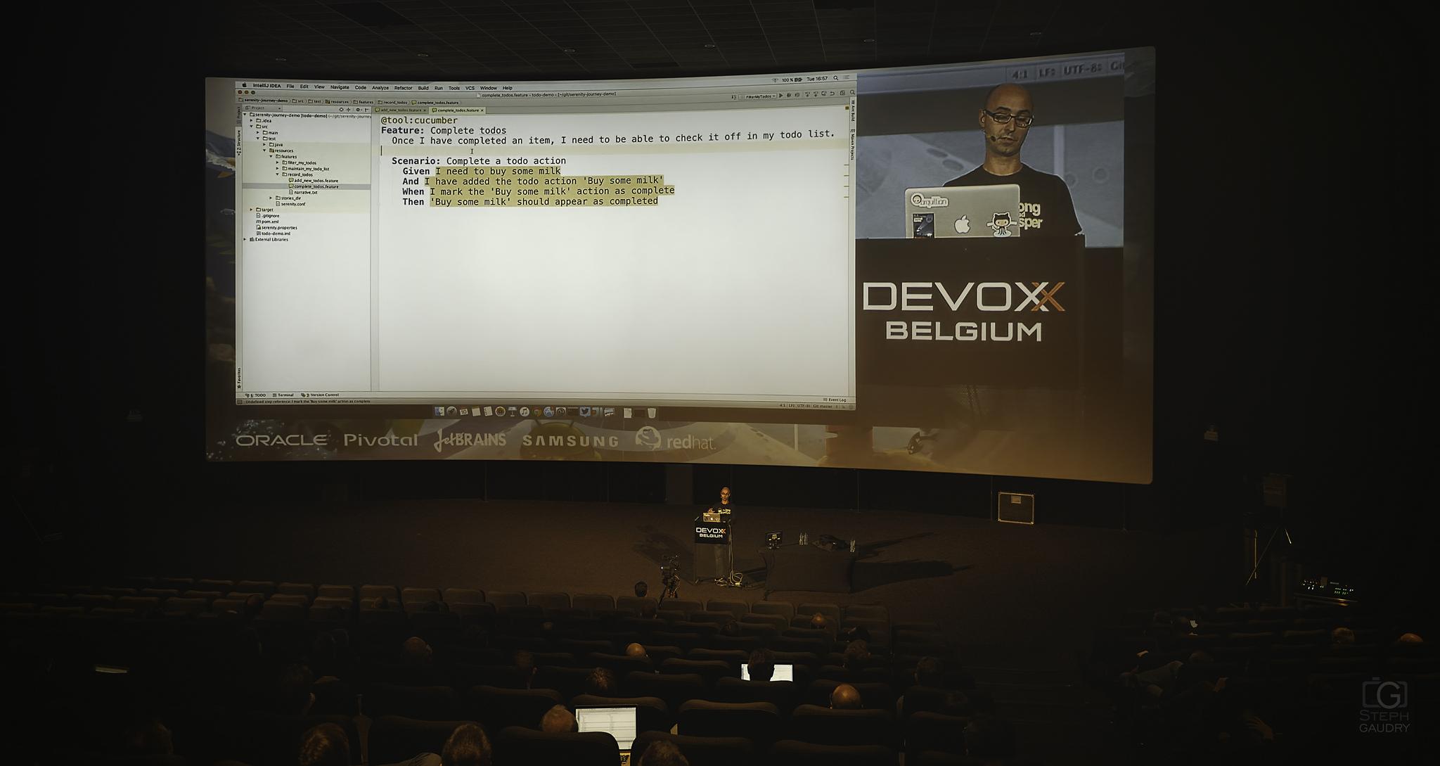 Stories for Serenity BDD  - Devoxx2015 [Click to start slideshow]