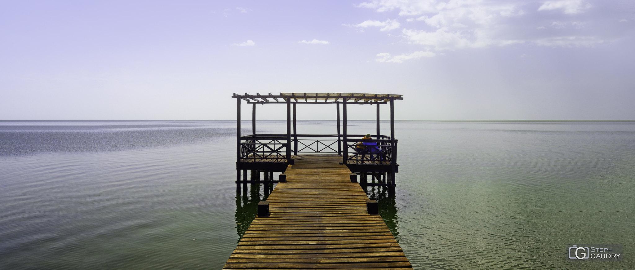 Quiétude - le ponton de Champotón [Cliquez pour lancer le diaporama]