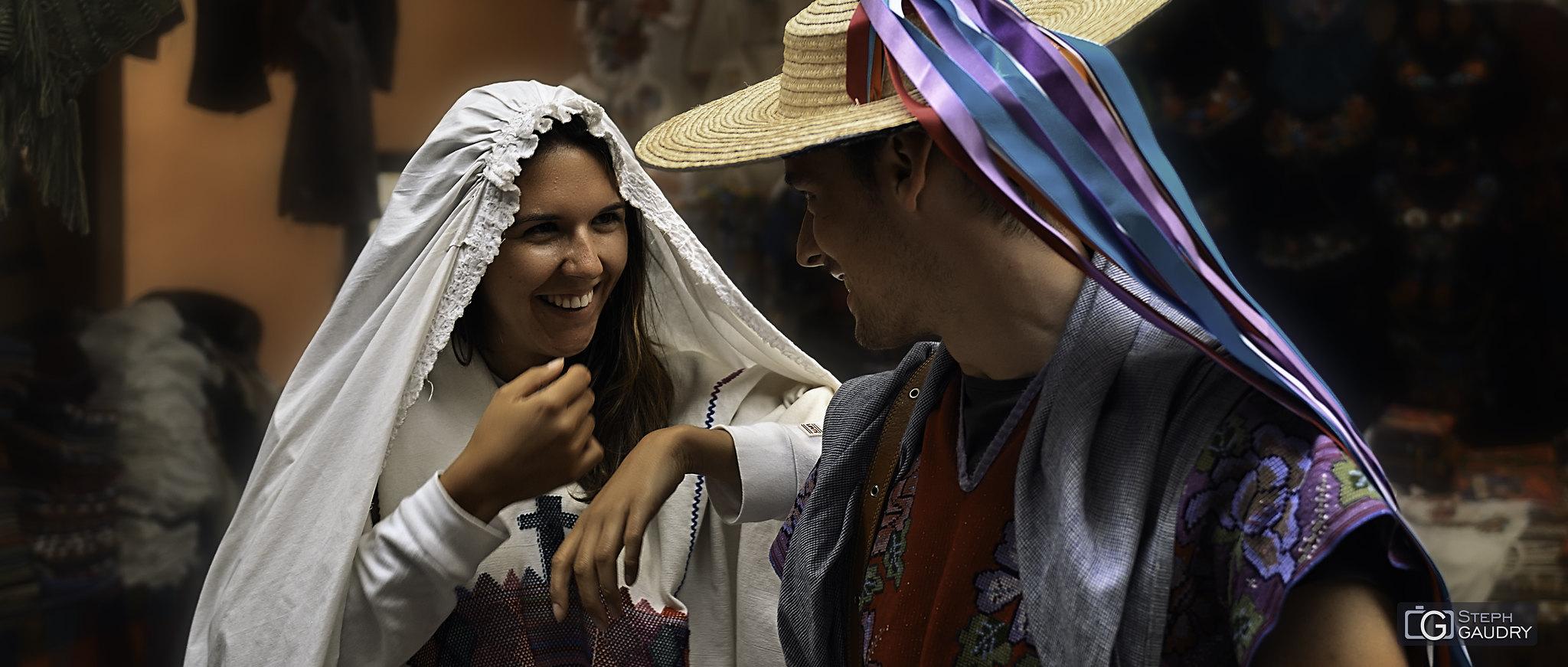 Mariage mexicain - Clarisse et Tom [Klik om de diavoorstelling te starten]