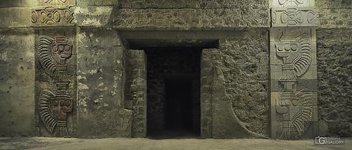 A l'intérieur de Teotihuacán