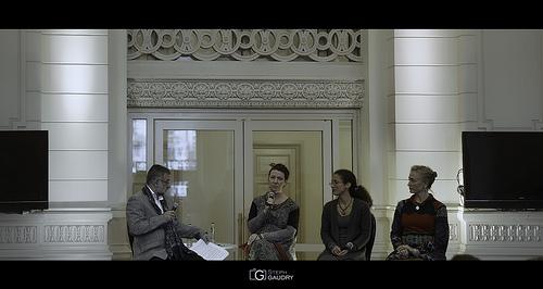 Rencontre avec Els Janssens-Vanmunster, Caroline Marçot et Annie Paris
