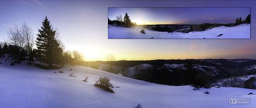 iPhone panorama - La Bresse